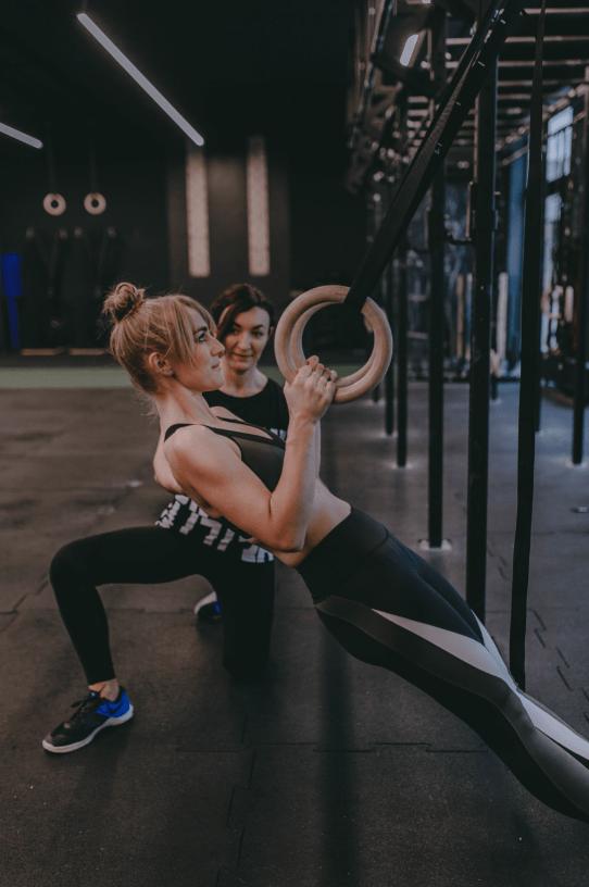 ring holds personal training anastasia plechinger
